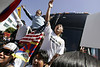 Olympic Torch Protest, San Francisco : Official Beijing Olympic Torch protests, San Francisco, 4/9/8